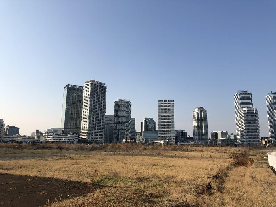 建設工事前のKアリーナプロジェクト敷地(みなとみらい60街区・61街区の一部)
