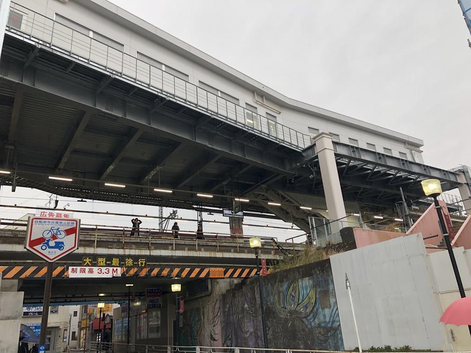 菊名駅の駅舎