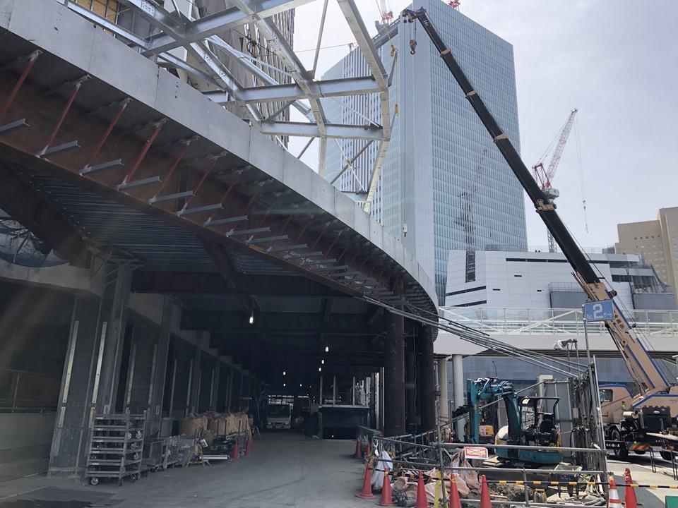 建設中のザ・タワー横浜北仲写真