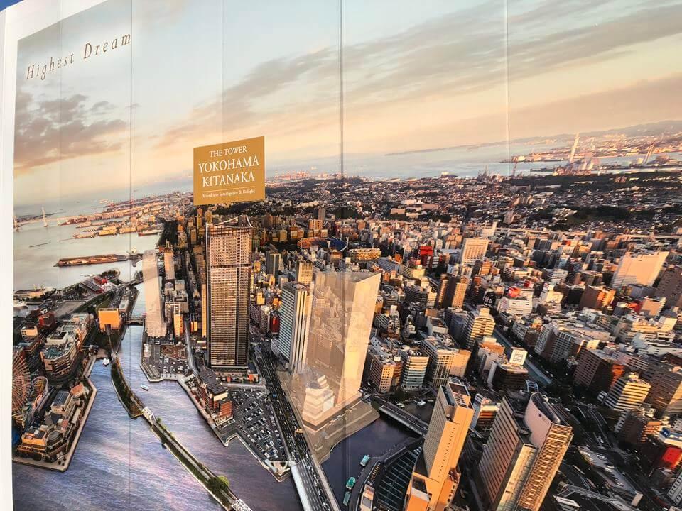 横浜北仲タワーのイメージ図