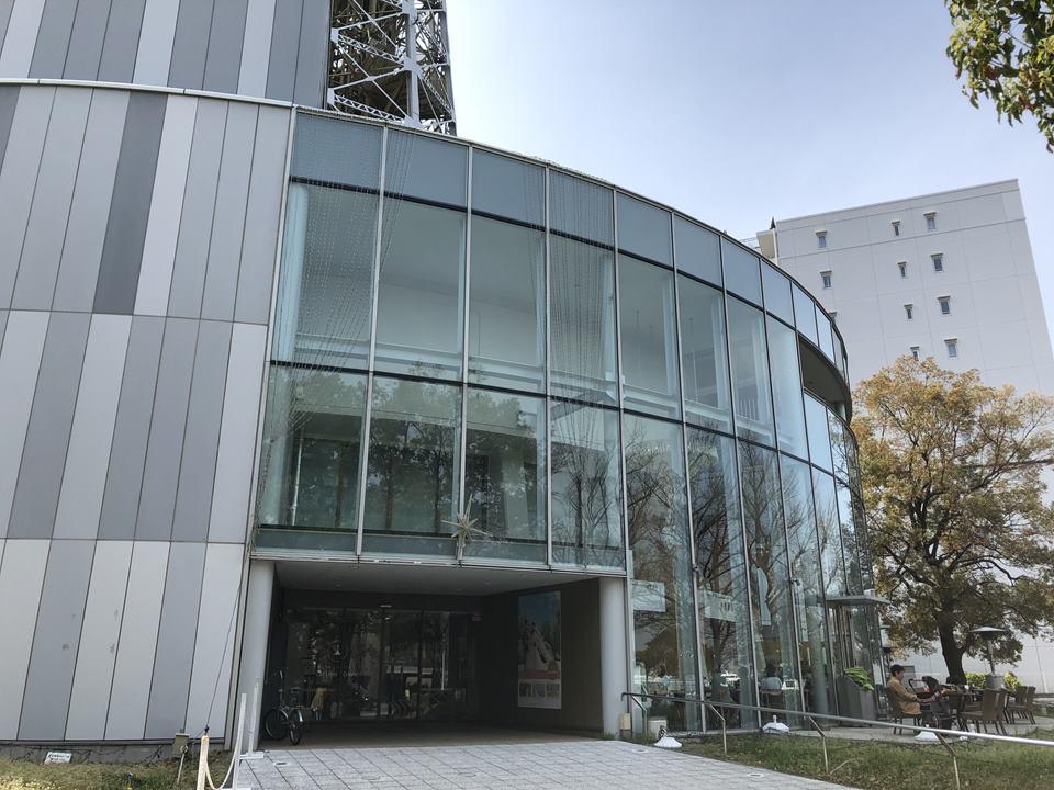 改修工事前の横浜マリンタワー外観写真(2019年3月)