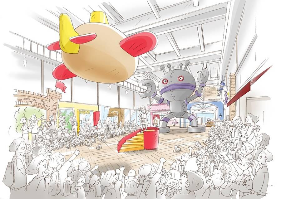 新施設「横浜アンパンマンこどもミュージアム」のビジュアルイメージ