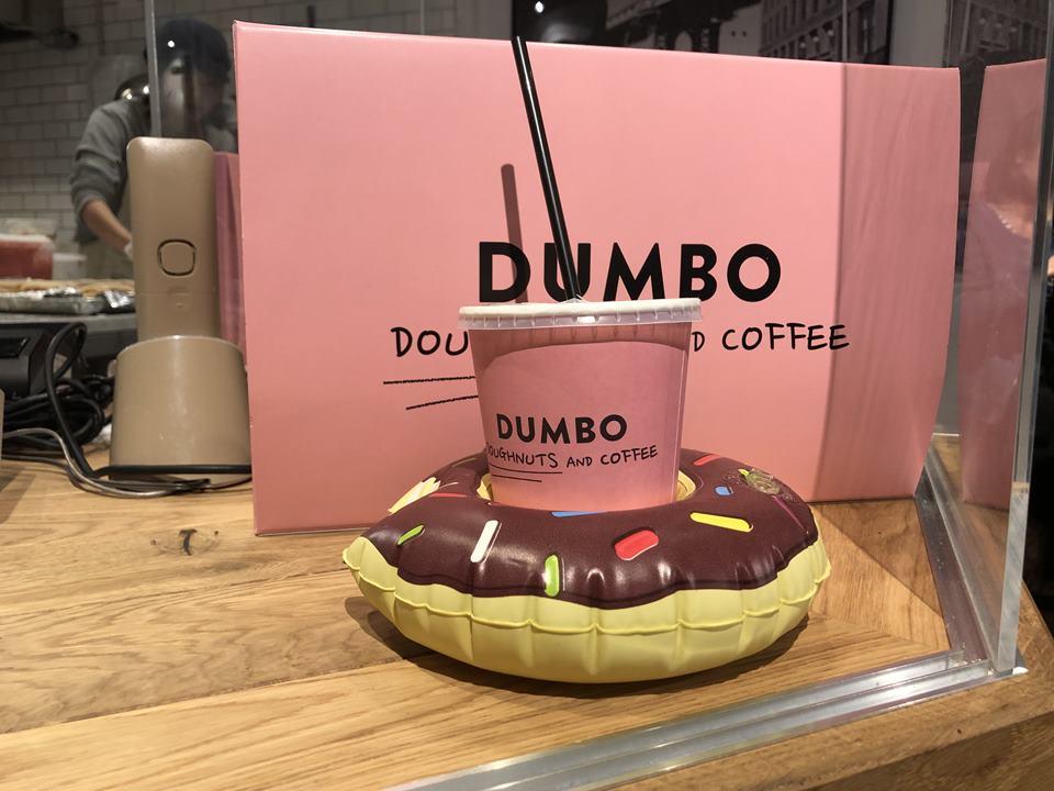 「DUMBO Doughnuts and Coffee (ダンボ ドーナツアンドコーヒー) アソビル店」の店内写真