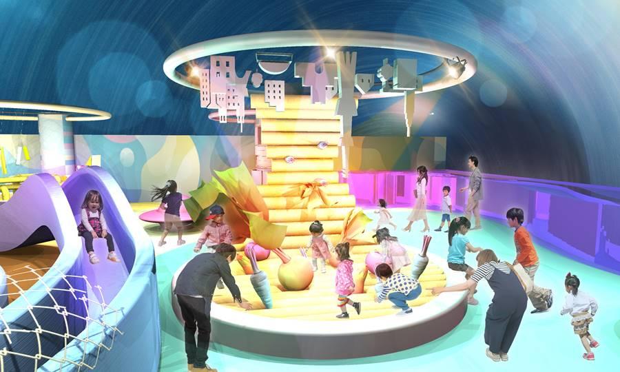4階・宇宙をテーマにした屋内キッズテーマパーク「PuChu!(プチュウ)」