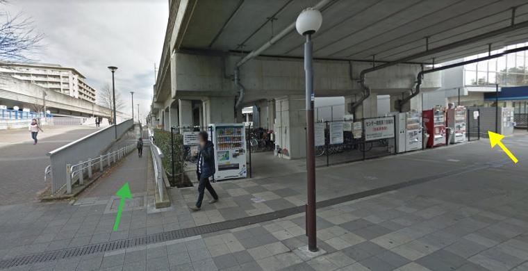 センター南駅からファンタジーキッズリゾート港北店へのアクセスマップ
