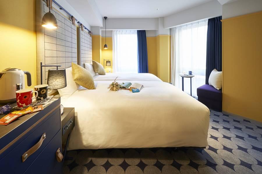 ホテルリソル横浜桜木町のツインルーム