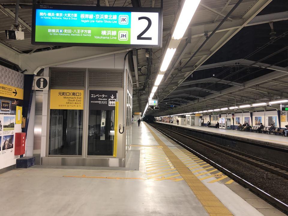 石川町駅のエレベーター