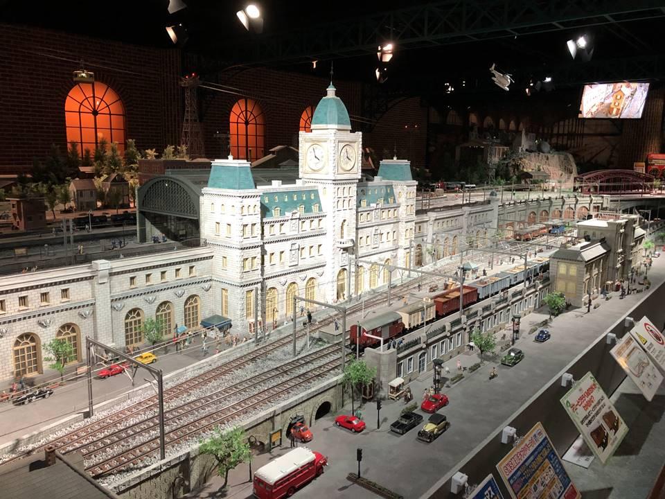 きかんしゃトーマススペシャルギャラリーが行われている原鉄道模型博物館