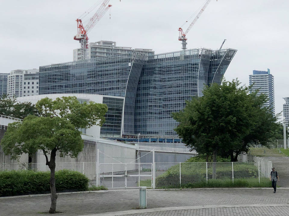 横浜ベイコート倶楽部 & ザ・カハラ横浜の建設工事写真