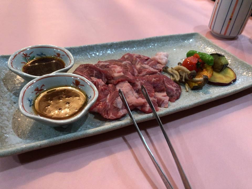 平塚にあるホテルサンライフガーデンの夕食写真