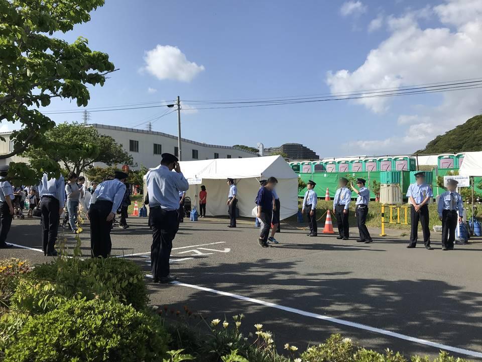 京急ファミリー鉄道フェスタ2019のお見送り