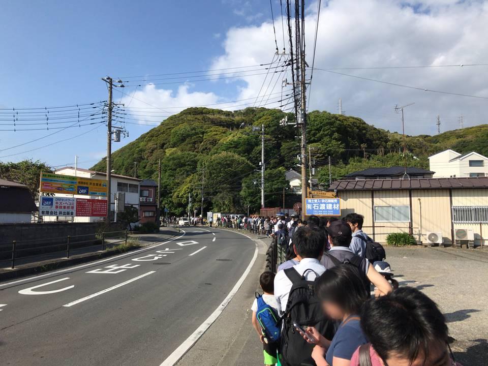 京急ファミリー鉄道フェスタ2019の無料シャトルバス(帰り)