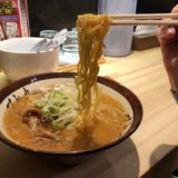 すみれ横浜店のラーメン