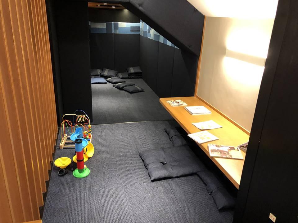カフェソラーレ ツムギ フード&タイムイセタン ヨコハマ店のキッズスペース