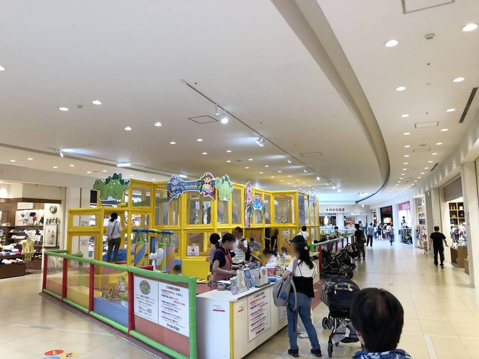 ららぽーと横浜にあるアドベンチャーアイランド