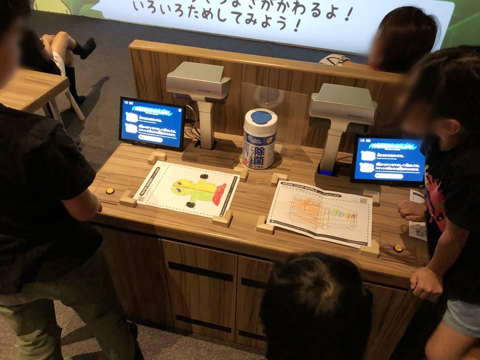 ららぽーと横浜にできたリトルプラネットのアトラクション画像