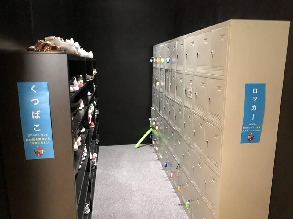 ららぽーと横浜にできたリトルプラネットのロッカー