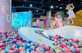 横浜駅東口直通のアソビル4Fにある屋内キッズテーマパーク「PuChu!(プチュウ!)」のイメージ画像