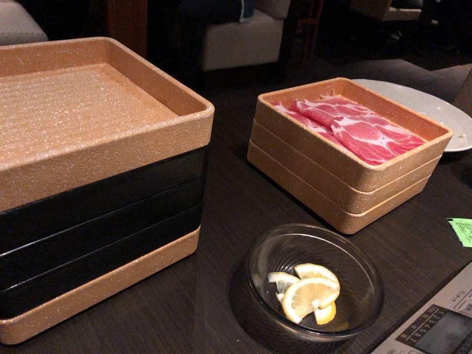 しゃぶ葉横浜ワールドポーターズのお肉写真
