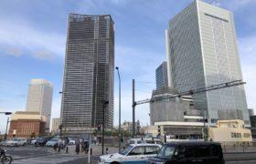 2019年6月の様子:横浜新市庁舎、ザ・タワー横浜北仲、アパ&リゾート横浜ベイ