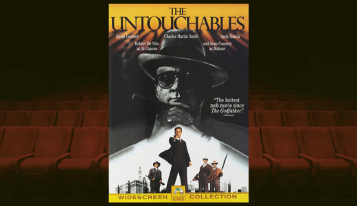 暗黒街の帝王アル・カポネとの戦いを描く映画「アンタッチャブル」。クライマックスの大階段は手に汗