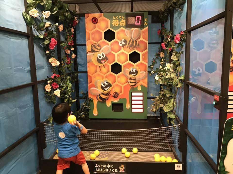 オービィ横浜で開催されている昆虫スゴわざ展の写真