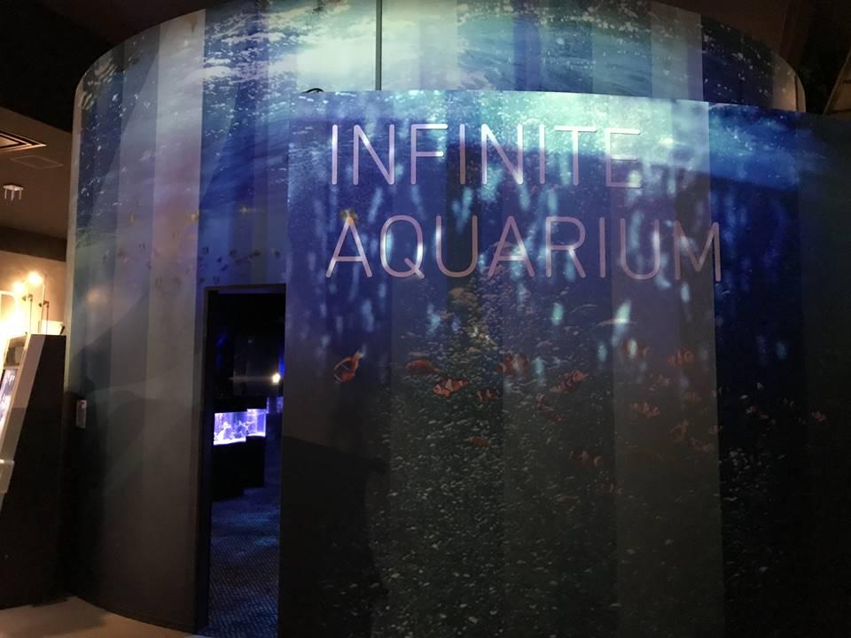 オービィ横浜のインフィニットアクアリウム写真