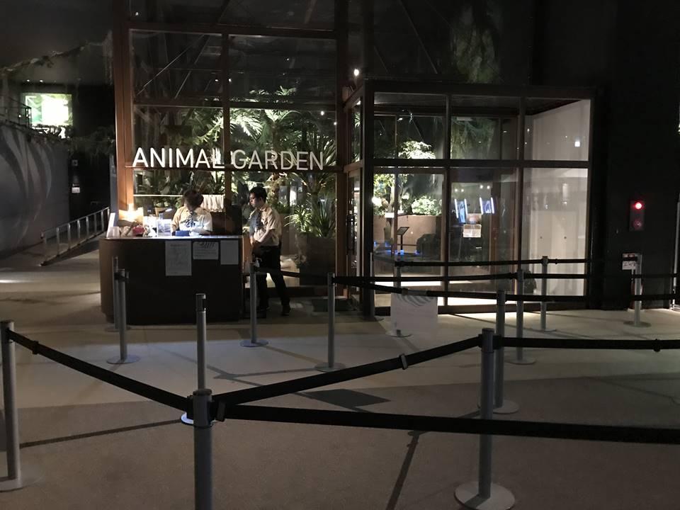 オービィ横浜のアニマルガーデン写真