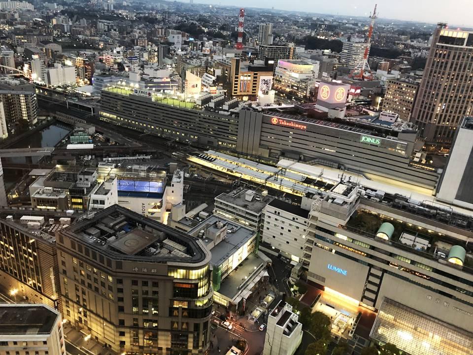 そごう横浜店屋上から見える景色写真
