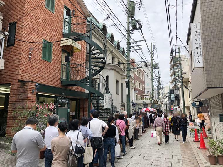 2019横浜元町チャーミングセール、初日の様子