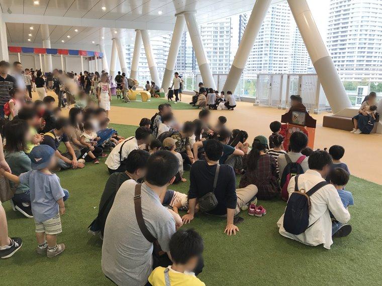 横浜アンパンマンこどもミュージアムのひろば写真