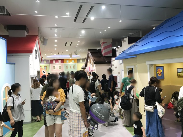 横浜アンパンマンこどもミュージアムのみんなのまち写真