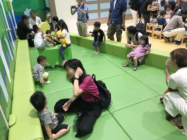 横浜アンパンマンこどもミュージアムの赤ちゃんが遊べる広場写真