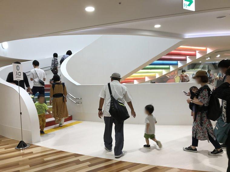 横浜アンパンマンこどもミュージアムの内部写真