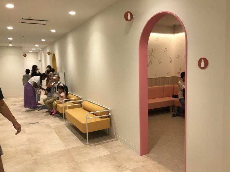 横浜アンパンマンこどもミュージアムのトイレやオムツ交換・授乳設備