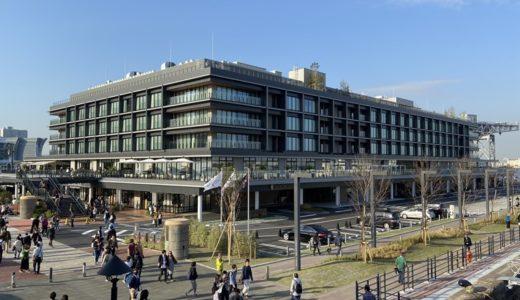 横浜ハンマーヘッドは2階テラスとラーメンホールが好き!ペット同伴できる飲食店舗もありますよ