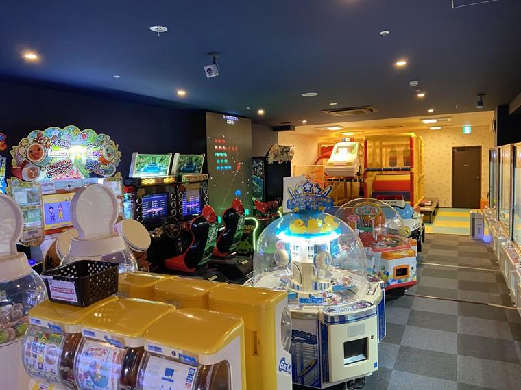 万葉の湯町田館のゲームプラザ写真