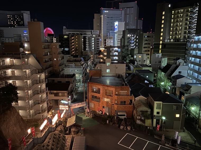 成田山横浜別院延命院(野毛山不動尊)から見た写真
