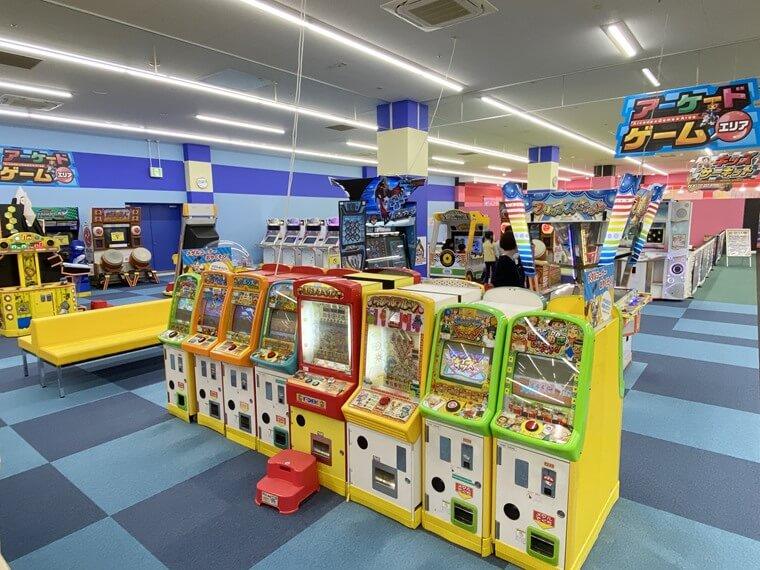 ファンタジーキッズリゾート港北のメダルコーナー写真