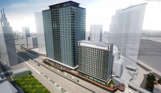 川崎駅西口開発「KAWASAKI DELTA/カワサキデルタ」にJR川崎タワーやホテルメトロポリタンなど