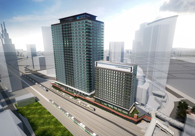 川崎駅西口開発「KAWASAKI DELTA/カワサキデルタ」の街区イメージ