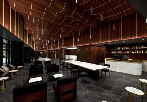 川崎デルタに誕生するホテルメトロポリタン川崎のロビー写真