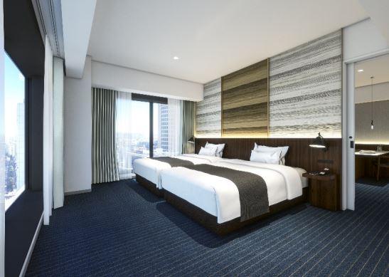 川崎デルタに誕生するホテルメトロポリタン川崎のスイートルーム写真