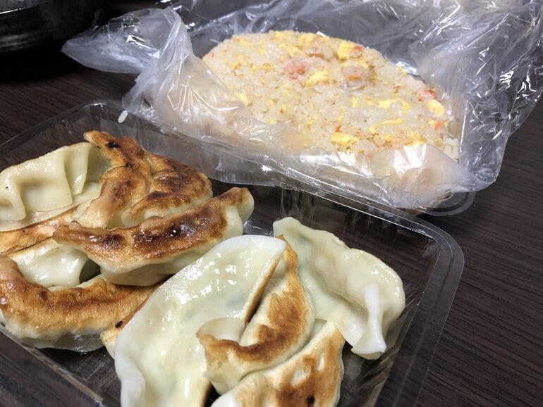 野毛の中華料理「大来」のテイクアウト写真