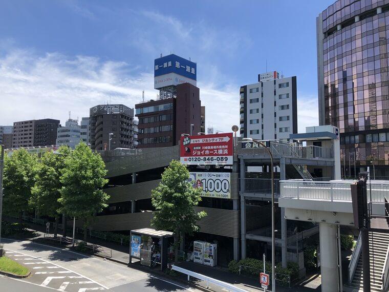 桜木町駅前駐車駐輪場の写真