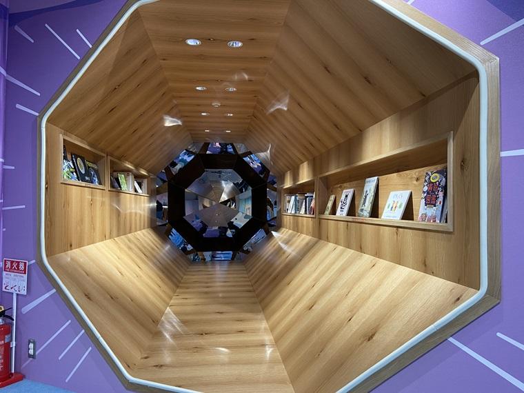 横浜駅のアソビル4Fにできたキッズパーク「PuChu!(プチュウ!)」のBOOK STAR写真
