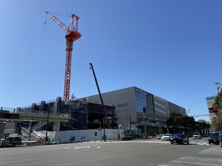 首都高速道路株式会社神奈川局開発計画の建設工事写真