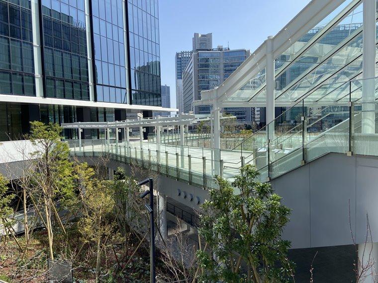 横浜グランゲートの建設工事写真