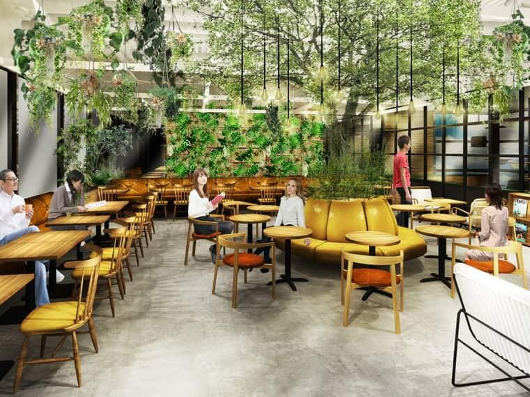 川崎駅前商業施設「ルフロン川崎」にできるカワスイ水族館の「カワスイ 9階 カフェ(仮)」