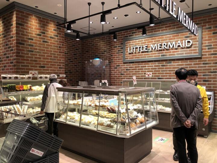 北仲ブリック&ホワイトに誕生したリンコス横浜馬車道店の店内売り場写真